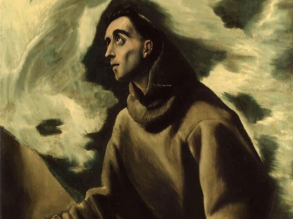 Franciszek z Asyzu_El Greco