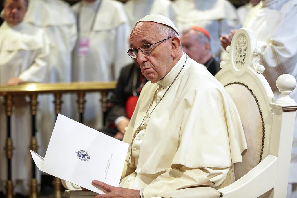 Papież Franciszek na Jasnej Górze, 28 lipca 2016 r.