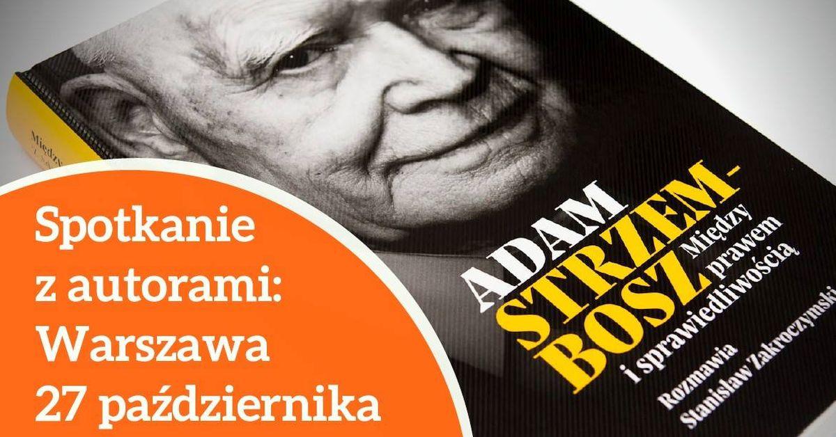 """""""Między prawem i sprawiedliwością"""", 27 października, godz. 18, Aula Starego BUW w Warszawie."""