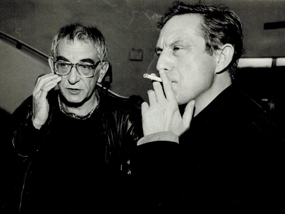 Krzysztof Kieślowski i Krzysztof Piesiewicz