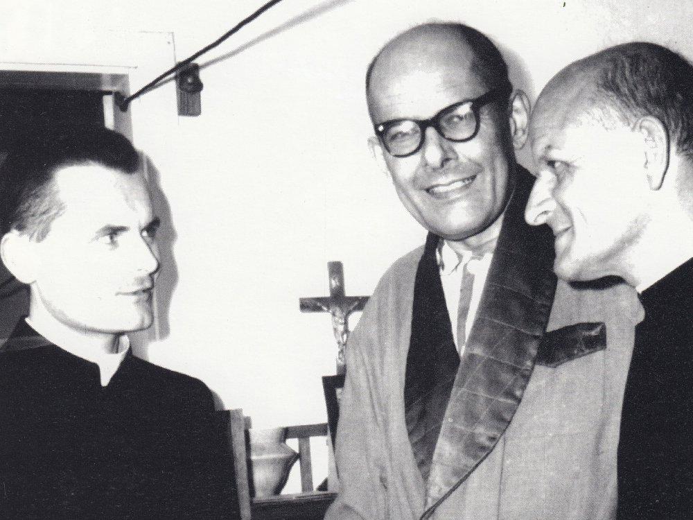 ks. Andrzej Santorski, ks. Aleksander Fedorowicz i ks. Tadeusz Fedorowicz