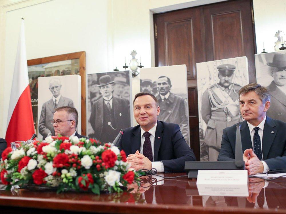 Spotkanie Komitetu Narodowych Obchodów 100. Rocznicy Odzyskania Niepodległości
