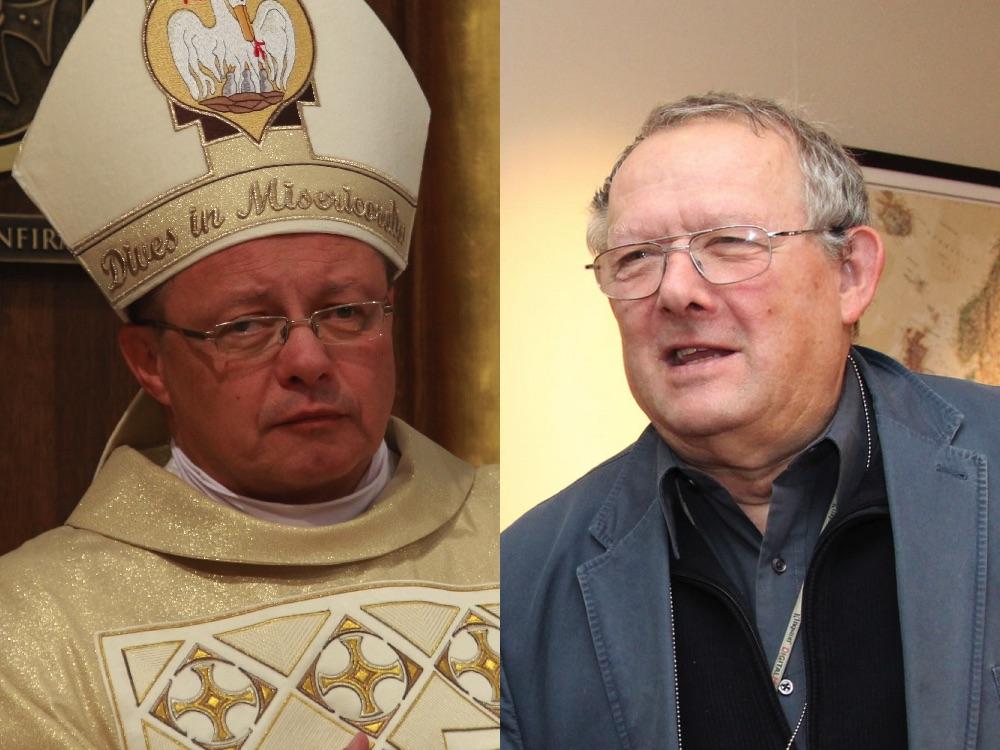 Abp Grzegorz Ryś i Adam Michnik