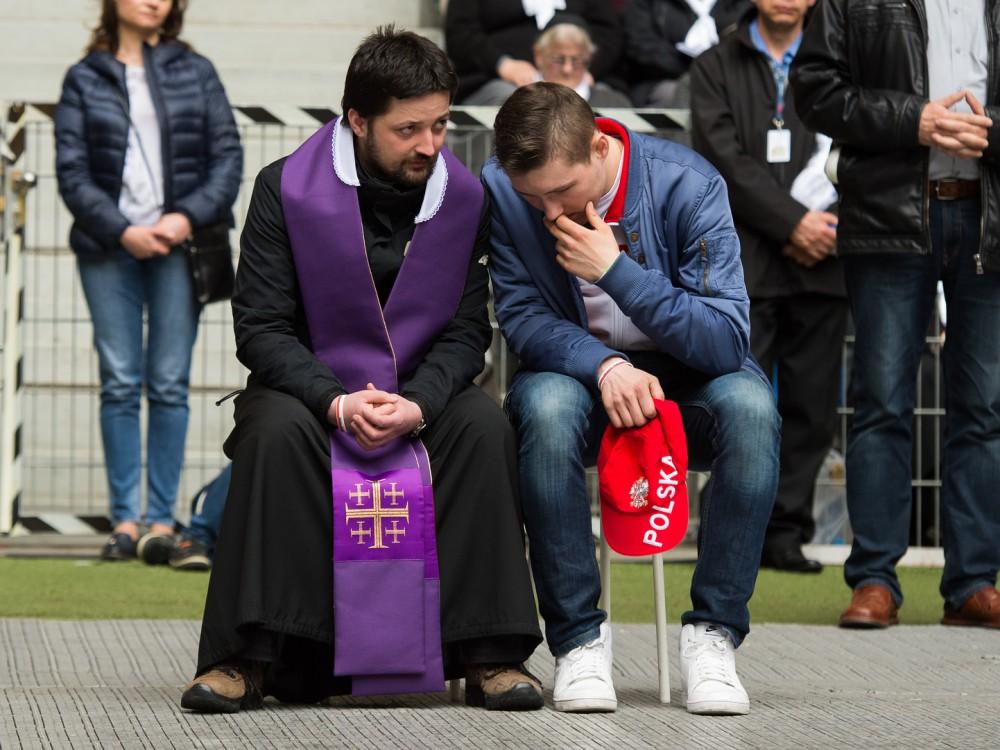 Spowiedź podczas Jubileuszu 1050-lecia chrztu Polski