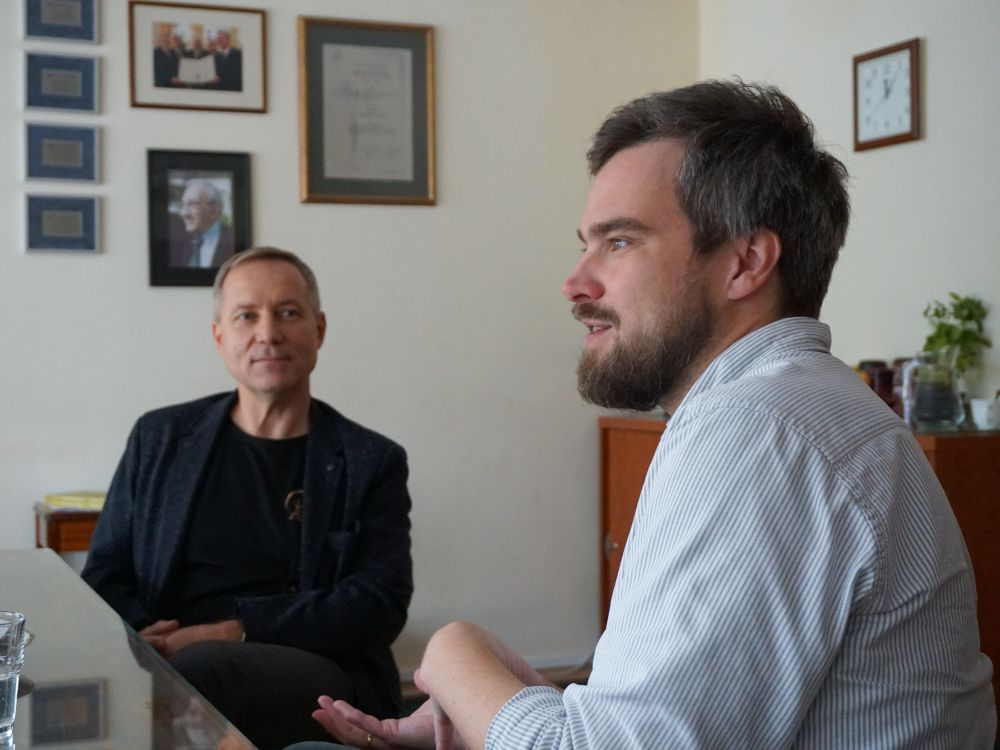 Zygmunt Miłoszewski i Krzysztof Zajas