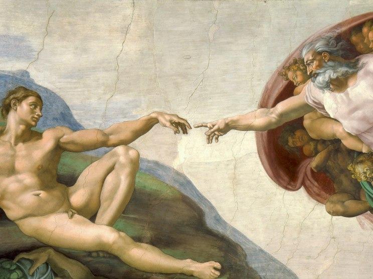 """""""Stworzenie Adama"""""""