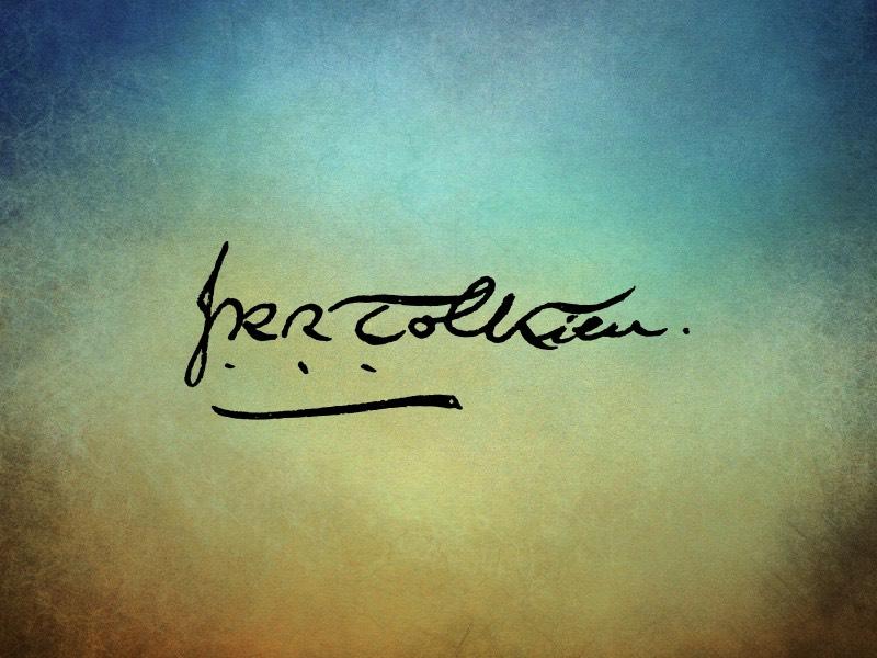 Podpis Tolkiena