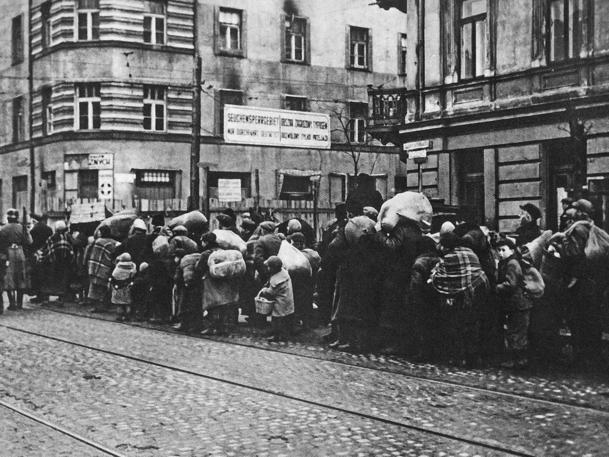 Przymusowe przesiedlenie ludności żydowskiej z mniejszych miast i osiedli w dystrykcie warszawskim do getta warszawskiego