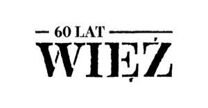 """Logo 60-lecia """"Więzi"""""""