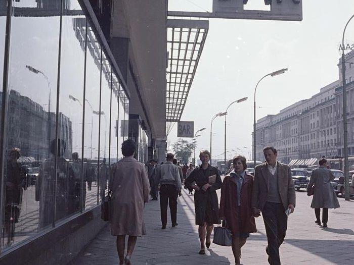 Aleje Jerozolimskie w Warszawie, lata 60.
