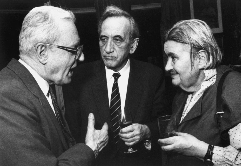 Andrzej Wielowieyski, Tadeusz Mazowiecki i Stanisława Grabska