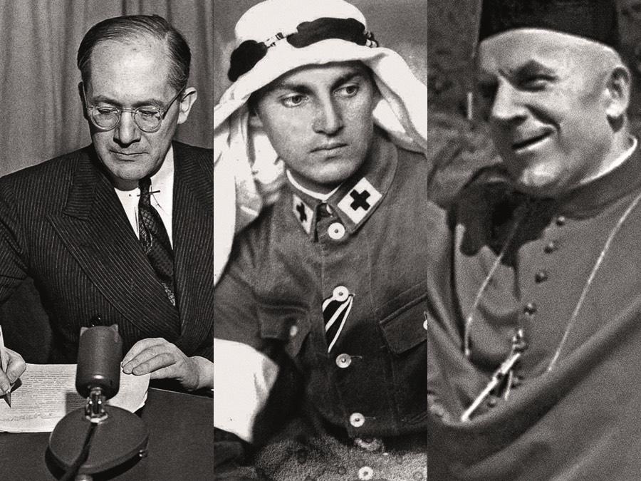 Rafał Lemkin, Armin Wegner i ks. Adalbert Wojciech Zink