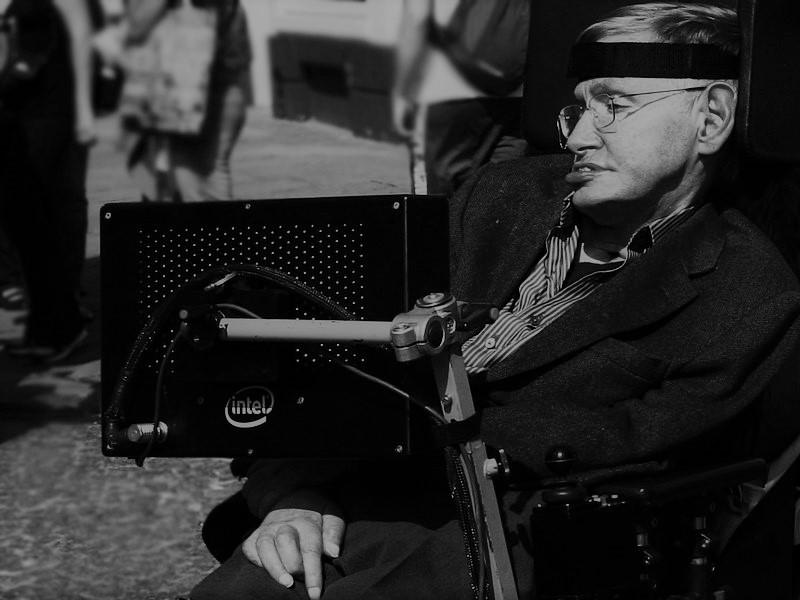 Stephen Hawking. Fot. Lwp Kommunikáció