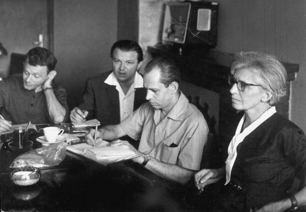 Wojciech Wieczorek, Jerzy Krzysztoń, Juliusz Eska, Krystyna Konarska-Łosiowa
