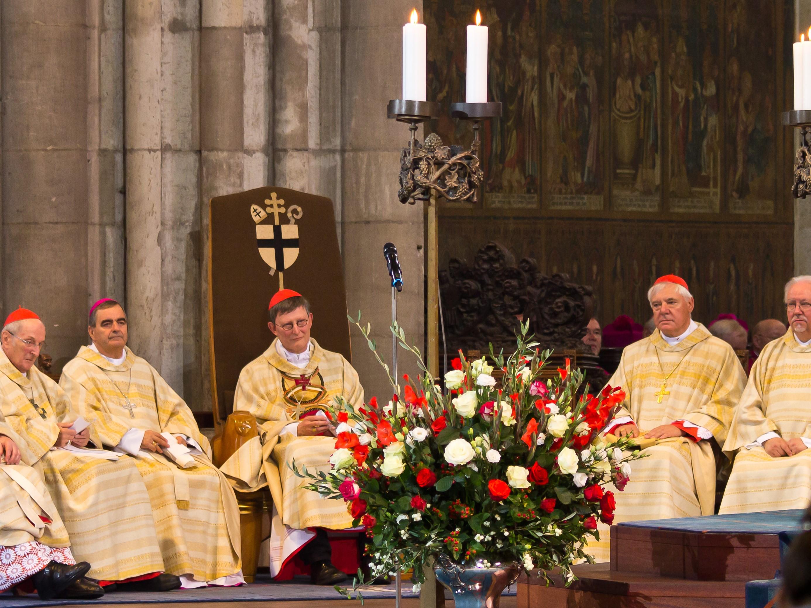 Ingres arcybiskupa Kolonii Rainera Marii Woelki w Katedrze w Kolonii. Fot. Raimond Spekking / na licencji CC