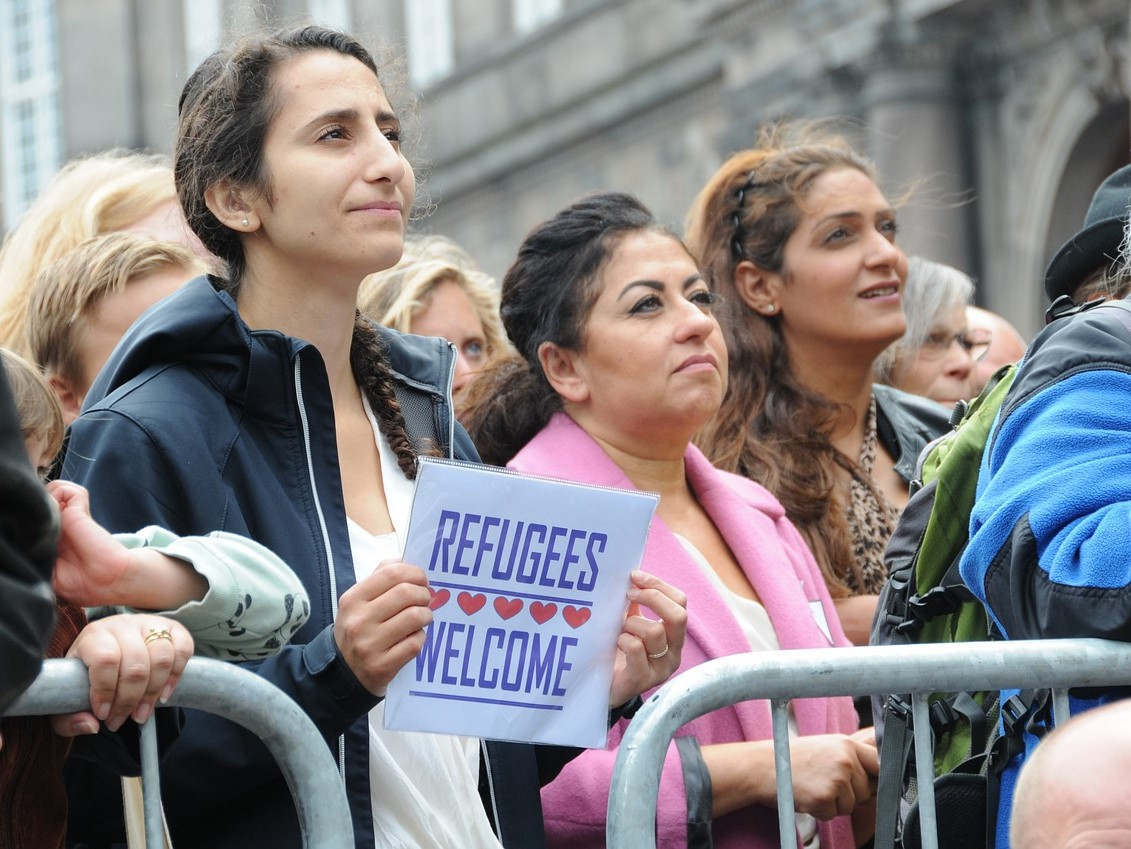 Refugees, welcome