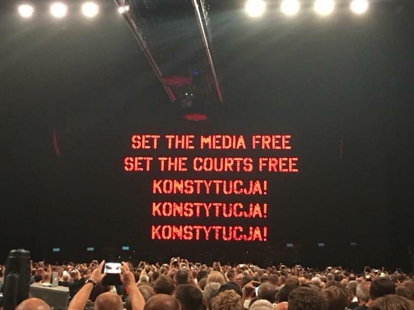 Koncert Rogera Watersa w Krakowie 3 sierpnia 2018 r.