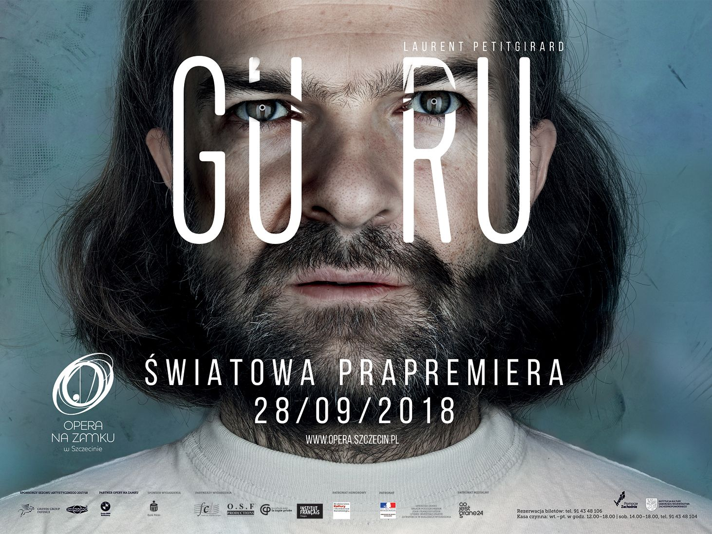 """Prapremiera """"Guru"""" w szczecińskiej Operze na Zamku, 28 września 2018 r."""