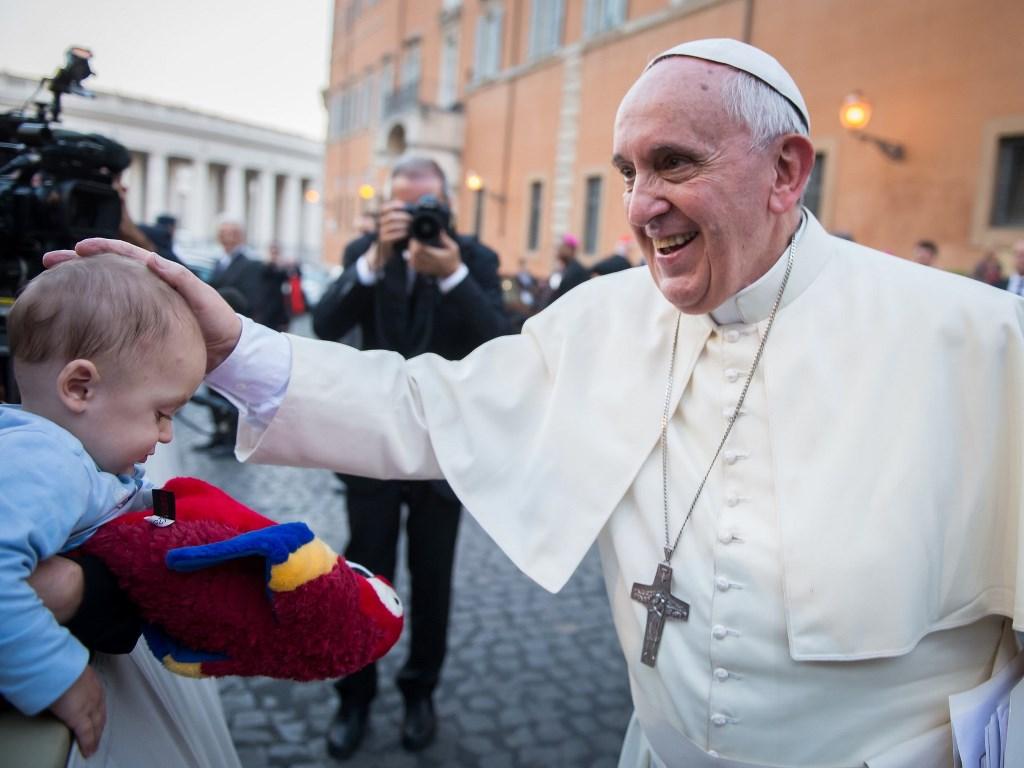 Franciszek: Zwracajmy się do Boga bez lęku