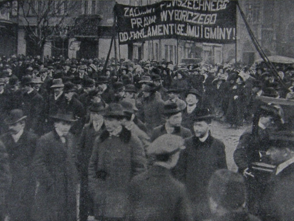 Krakowskie sufrażystki