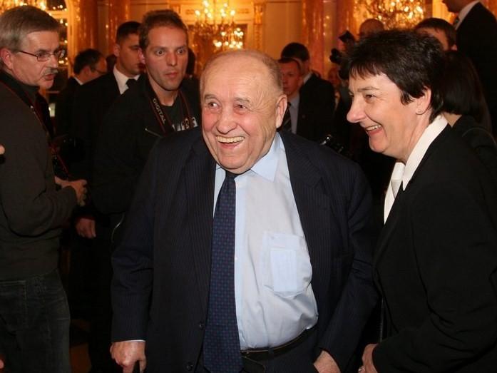 Bohdan Osadczuk w 2007 r. Fot. Archiwum Kancelarii Prezydenta RP