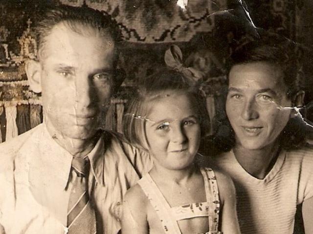 Dawid Nassan z rodziną