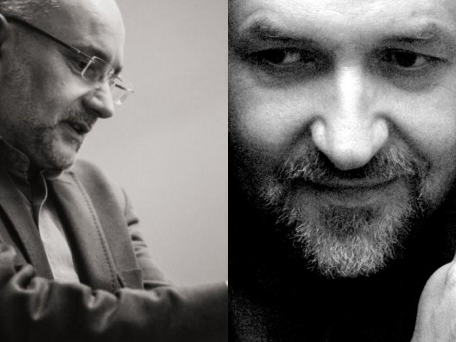 Ks. Andrzej Draguła i Jerzy Sosnowski