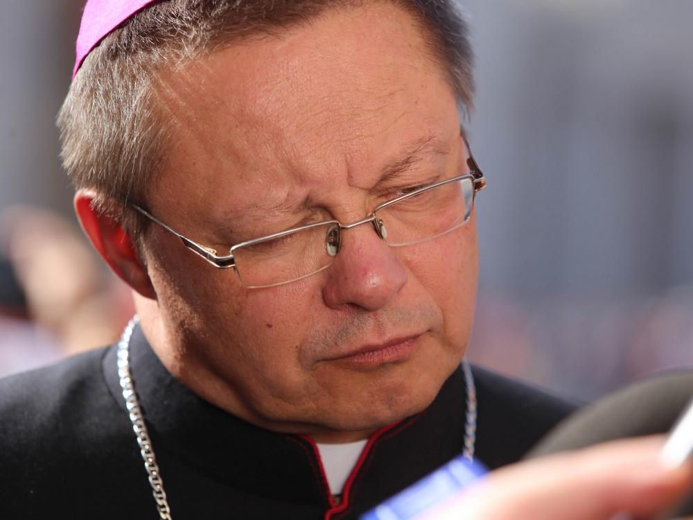 Abp Grzegorz Ryś w Watykanie 3 października 2018 r.