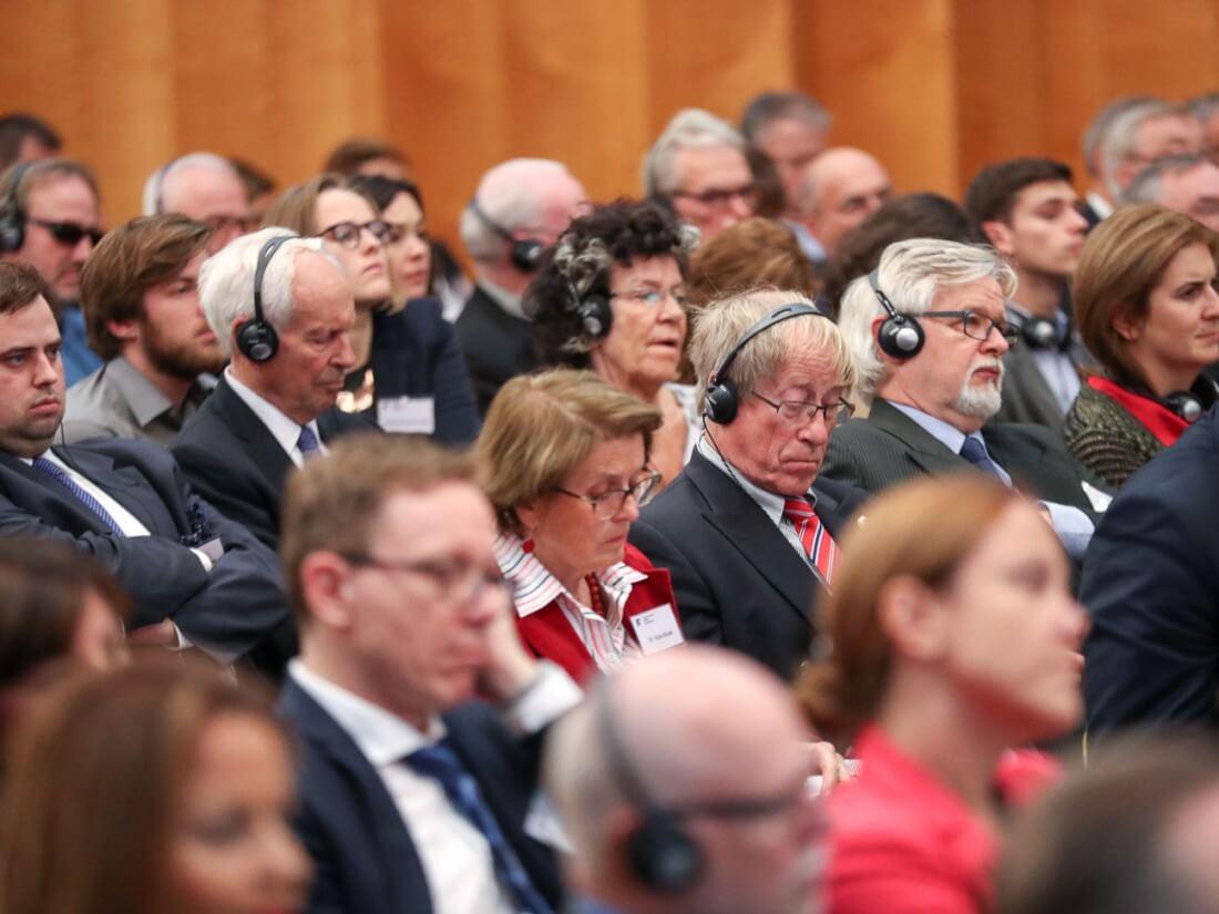 """Uczestnicy XIX Forum Polsko-Niemieckiego """"Europa 1918 – 2018: historia z przyszłością"""""""