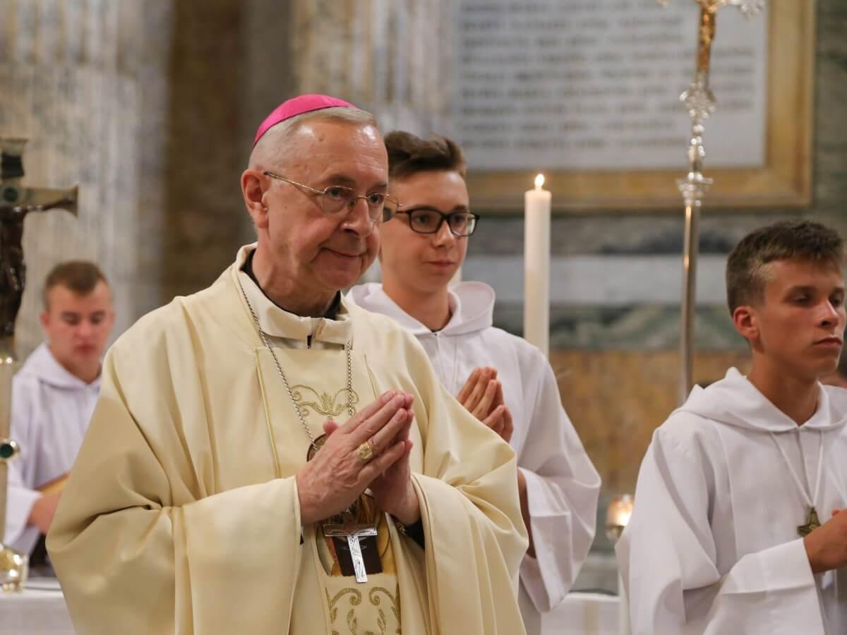 Abp Stanisław Gądecki w Rzymie 2 października 2018 r.
