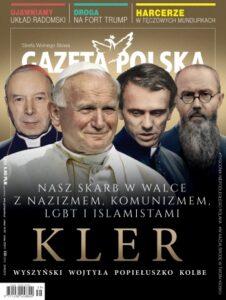 """Poprzednia okładka tygodnika """"Gazeta Polska"""""""