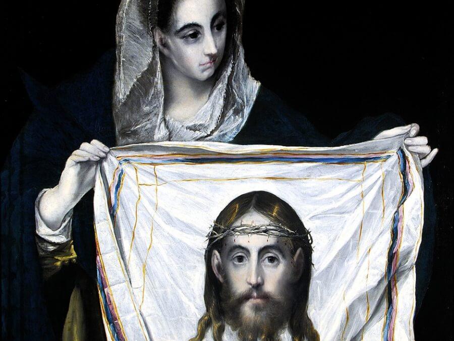 "El Greco, ""Św. Weronika z chustą"""