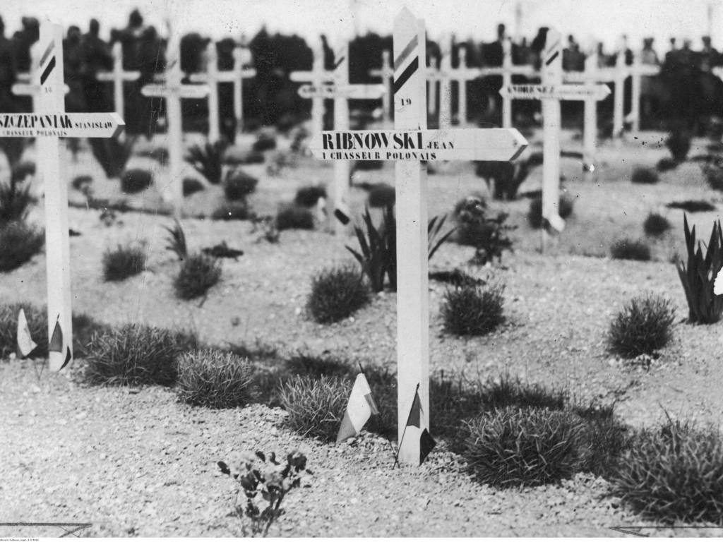 Groby Polaków poległych podczas I wojny światowej w lipcu 1918 roku, Saint-Hilaire (Francja)