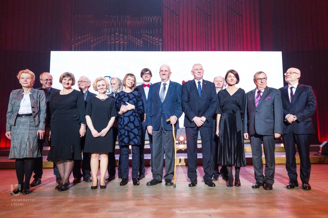 Gala IV edycji konkursu o Nagrodę im. Pierwszego Rektora Uniwersytetu Łódzkiego Prof. Tadeusza Kotarbińskiego w Filharmonii Łódzkiej