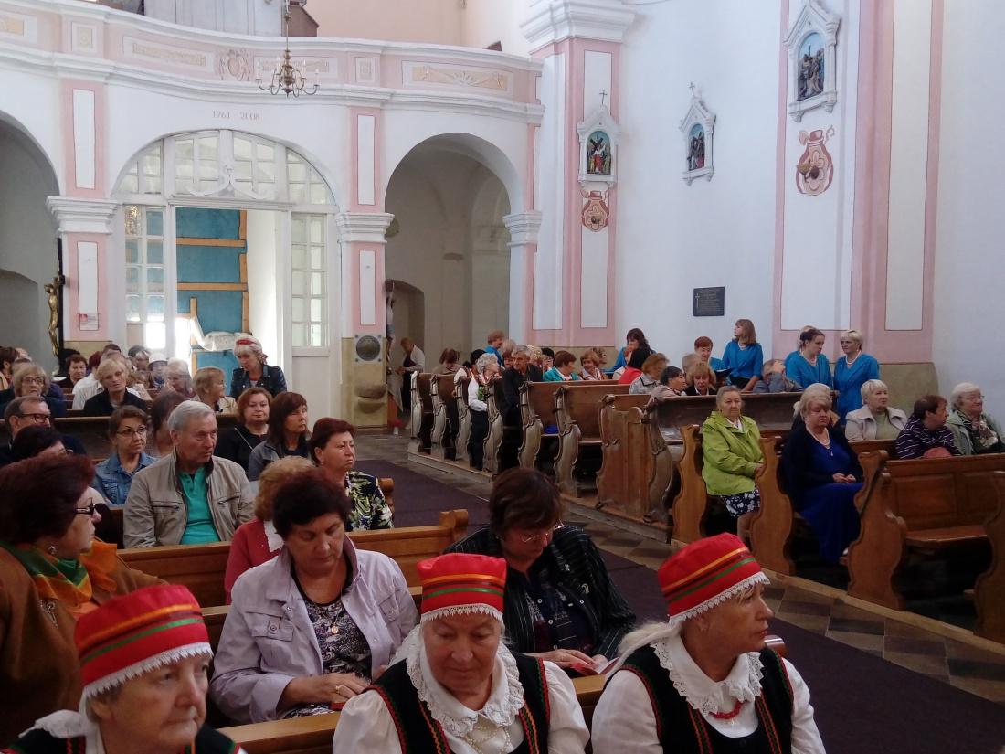 Festiwal polski w kościele pw. św. Dominika we wsi Posiń