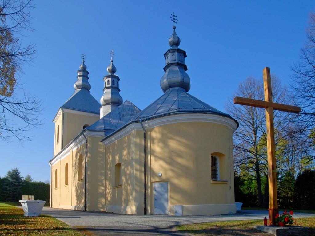 Dawna cerkiew greckokatolicka (obecnie Kościół Wniebowzięcia Matki Boskiej)