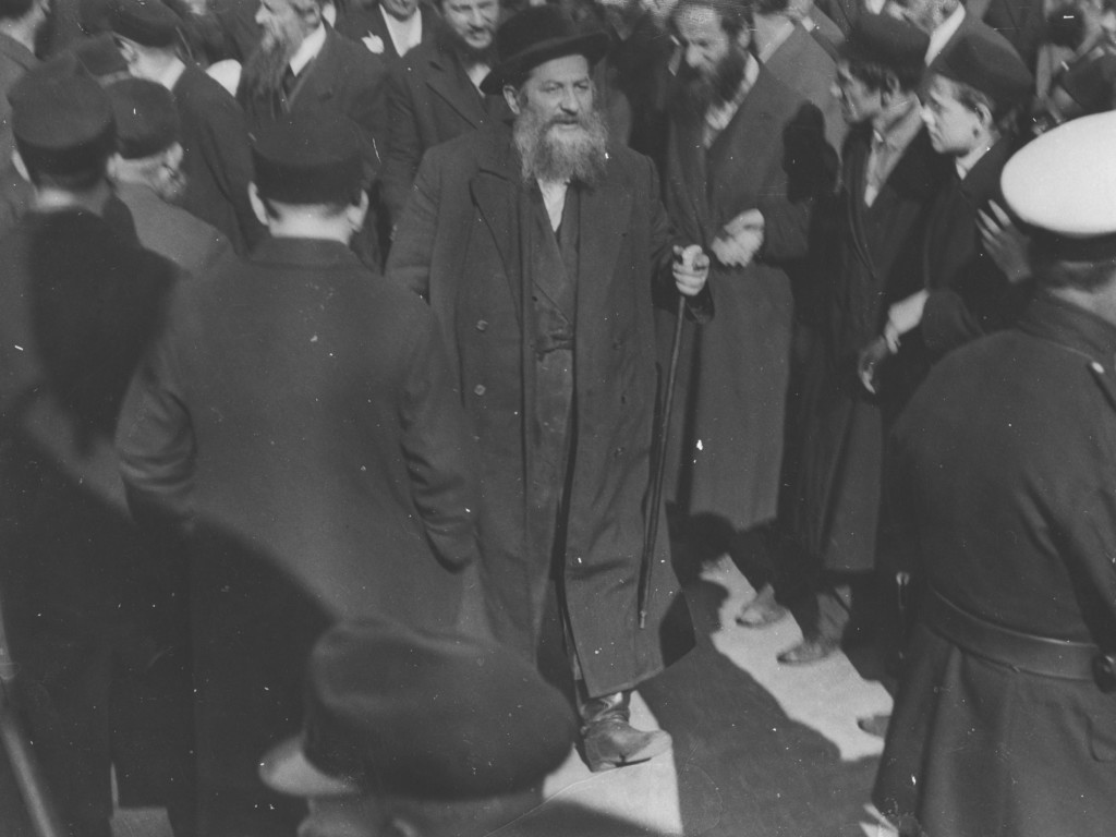 Wyjazd cadyka Abrahama Mordechaja