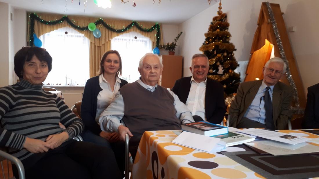 Anna Sieprawska, Dominika Kozłowska, Stefan Wilkanowicz, Zbigniew Nosowski i Paweł Broszkowski