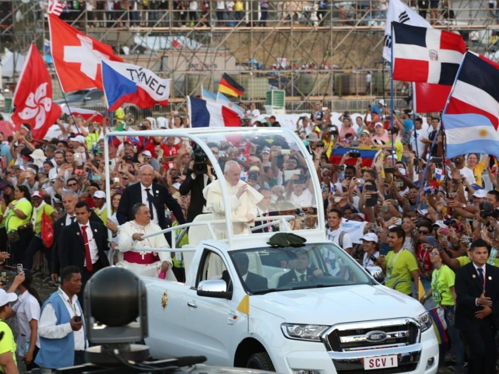 Franciszek w Panamie