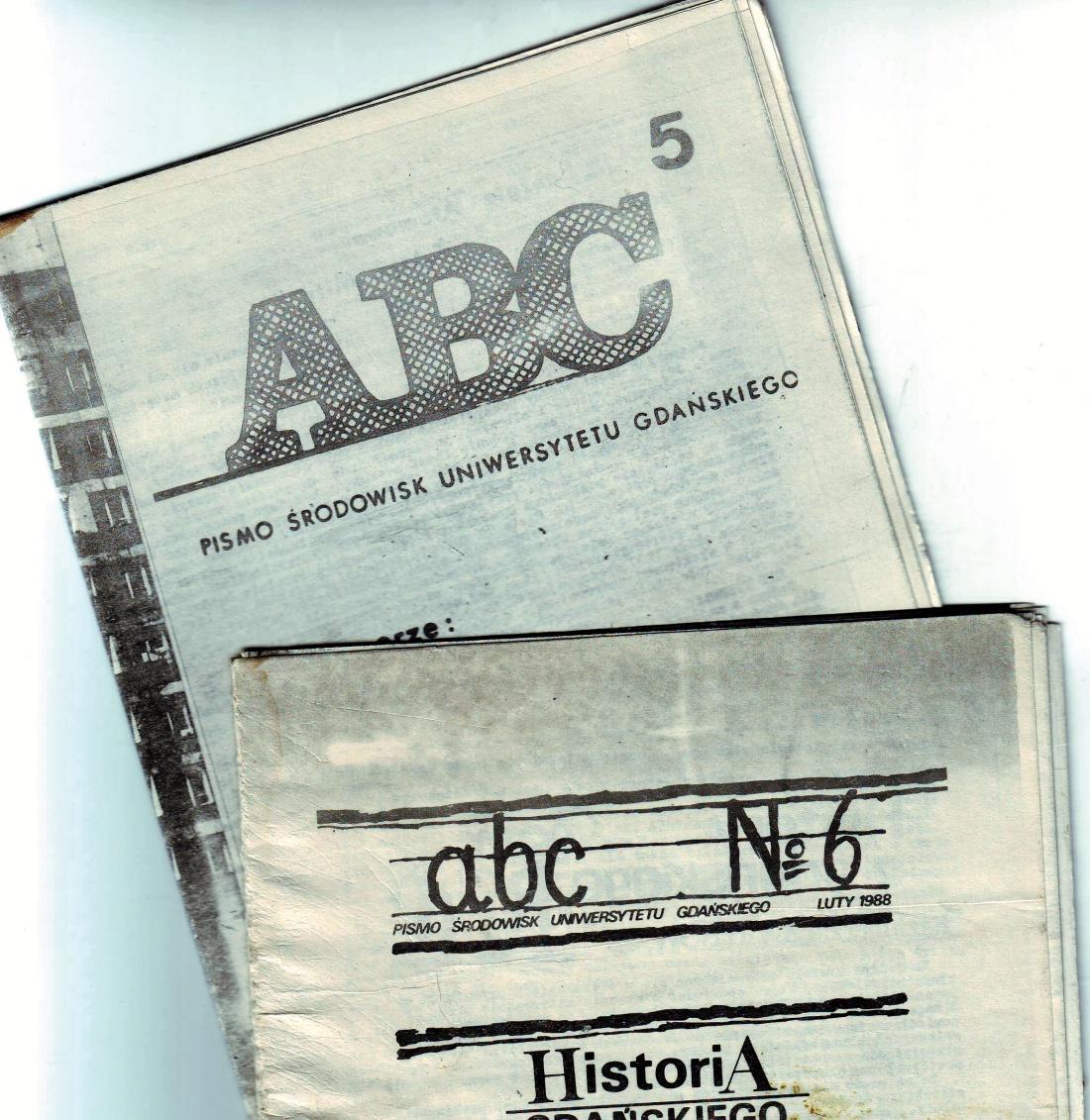 """Pismo """"ABC"""" redagowane przez Pawła Adamowicza"""