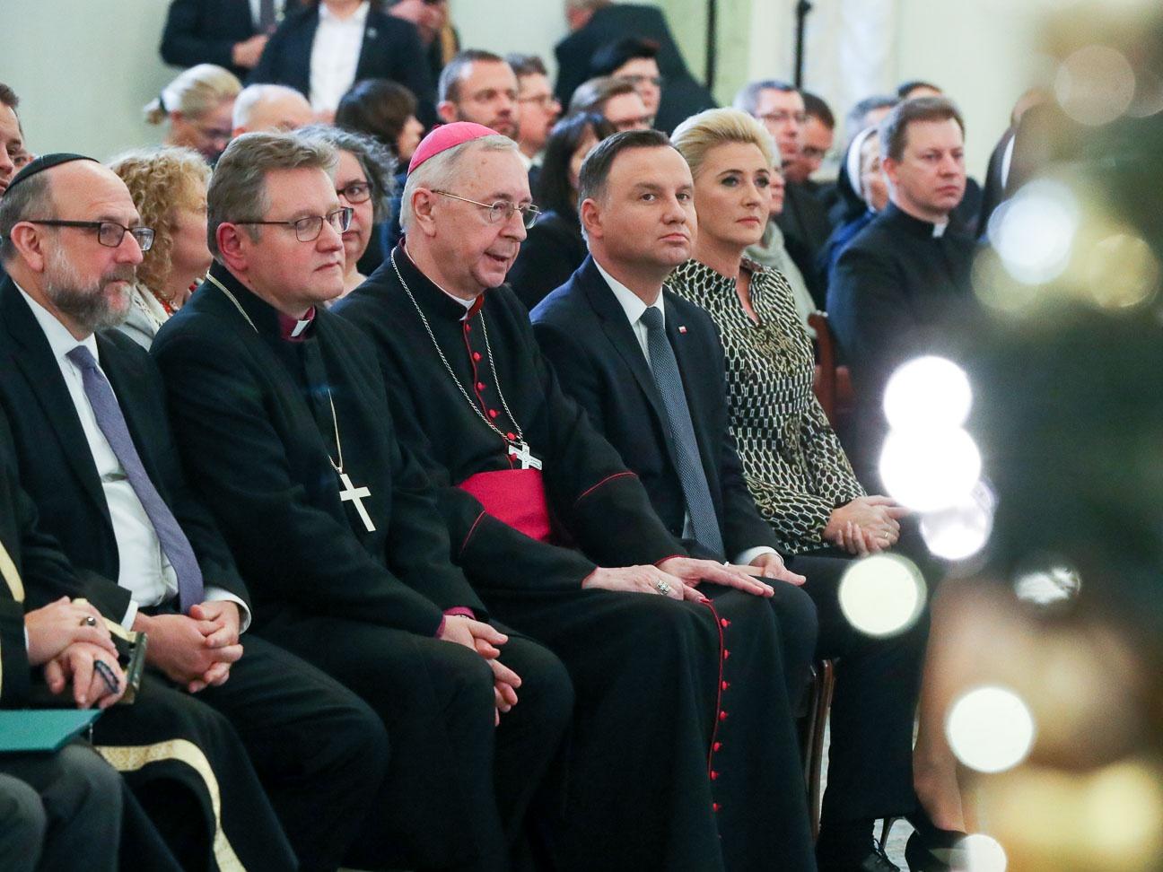 """""""Dostrzegam słowa, których żałuję"""". Andrzej Duda do przedstawicieli wyznań i mniejszości narodowych"""