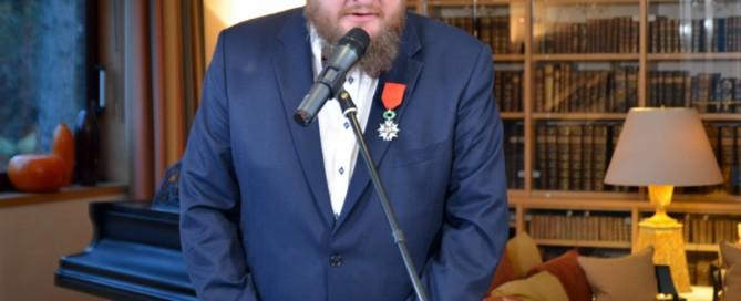 Piotr Cywiński odznaczony Orderem Narodowym Legii Honorowej