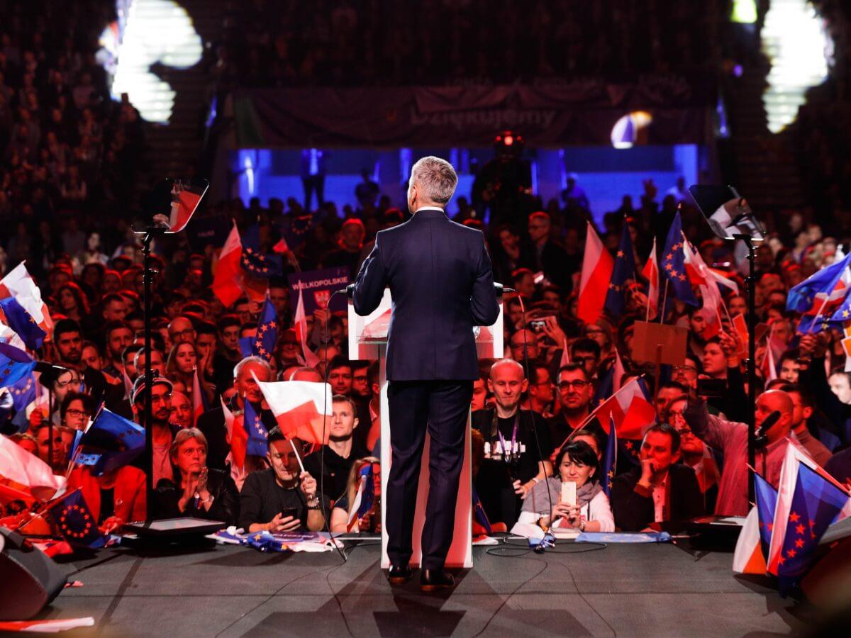 Konwencja Roberta Biedronia na Torwarze. Warszawa, 3 lutego 2019 r.