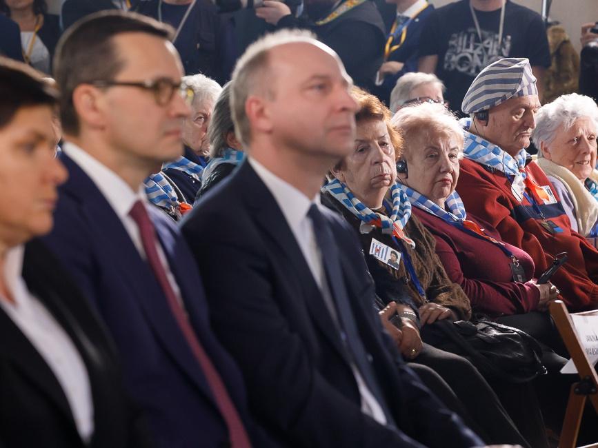74. rocznica Wyzwolenia Auschwitz 27 stycznia 2019 r.