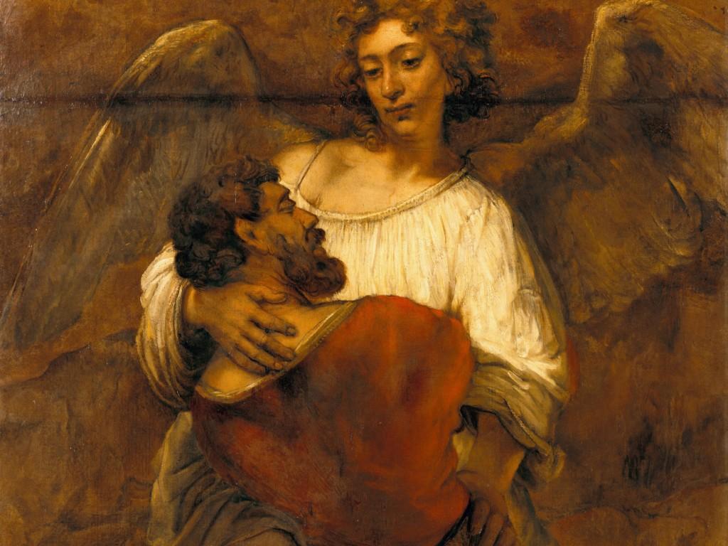 Walka Jakuba z aniołem