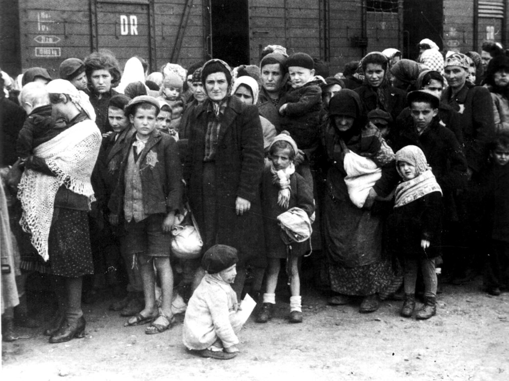 Transport węgierskich Żydów do KL Auschwitz
