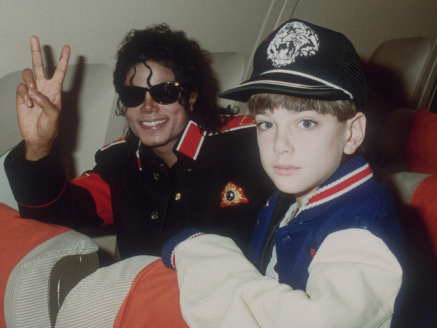 Michael Jackson i James Safechuck