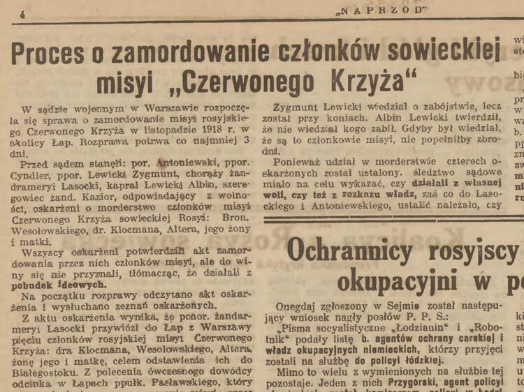 """""""Naprzód: organ Polskiej Partyi Socyalistycznej"""", 1920, nr 57"""