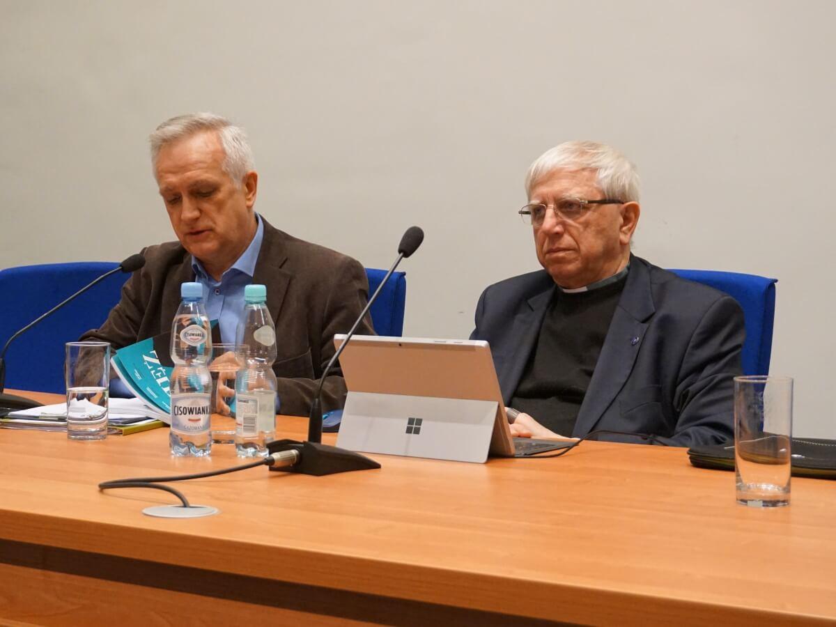 Zbigniew Nosowski i o. Adam Żak