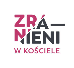 """Logo inicjatywy """"Zranieni w Kościele"""""""